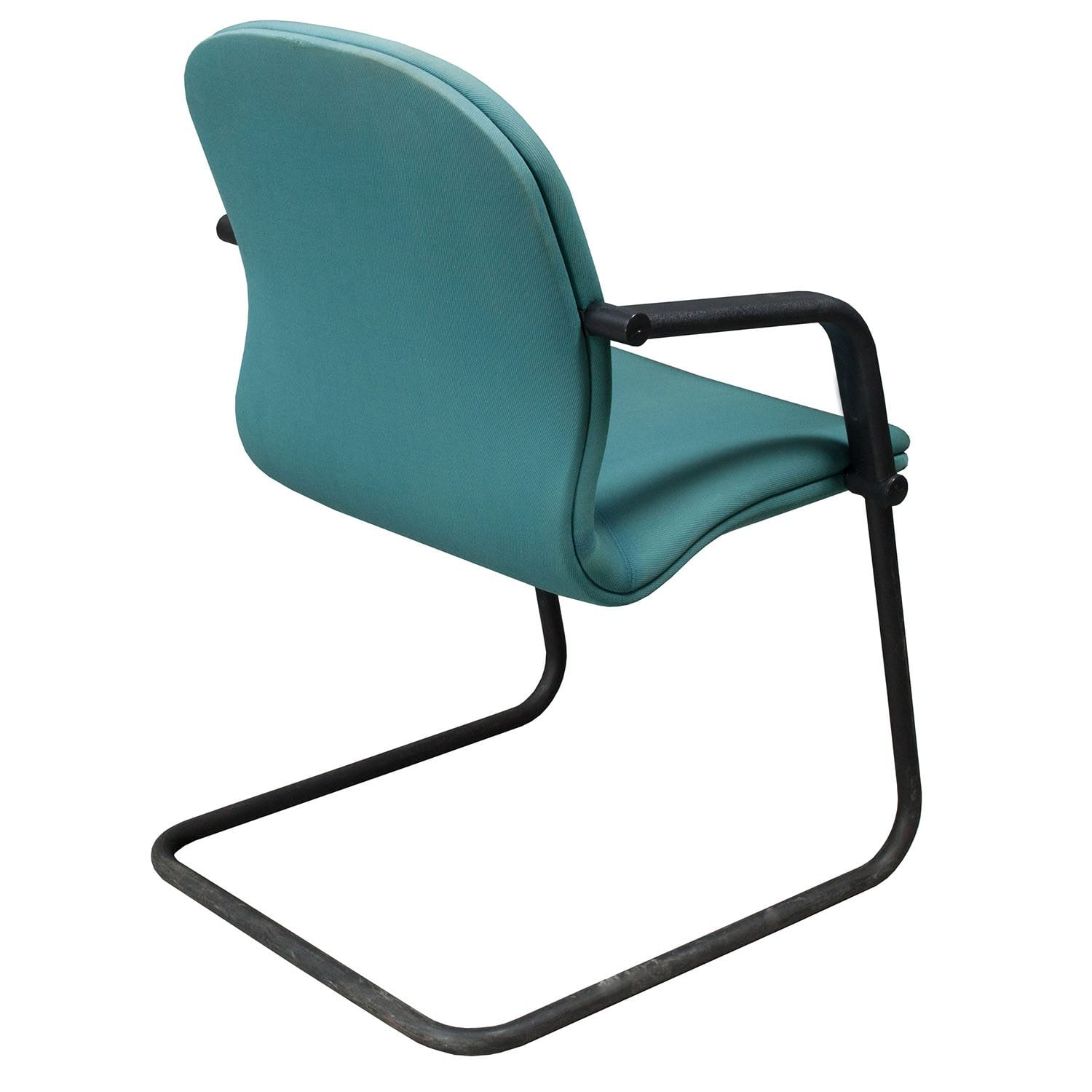 aqua desk chair gaming computer knoll reff used side