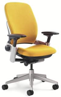Steelcase Leap V2 Used Task Chair, Yellow | National ...