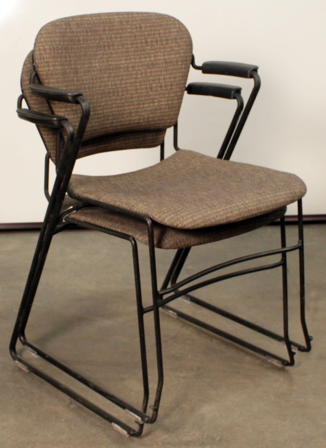 Ki Chairs Ki Perry Used Stack Chair Brown National Office