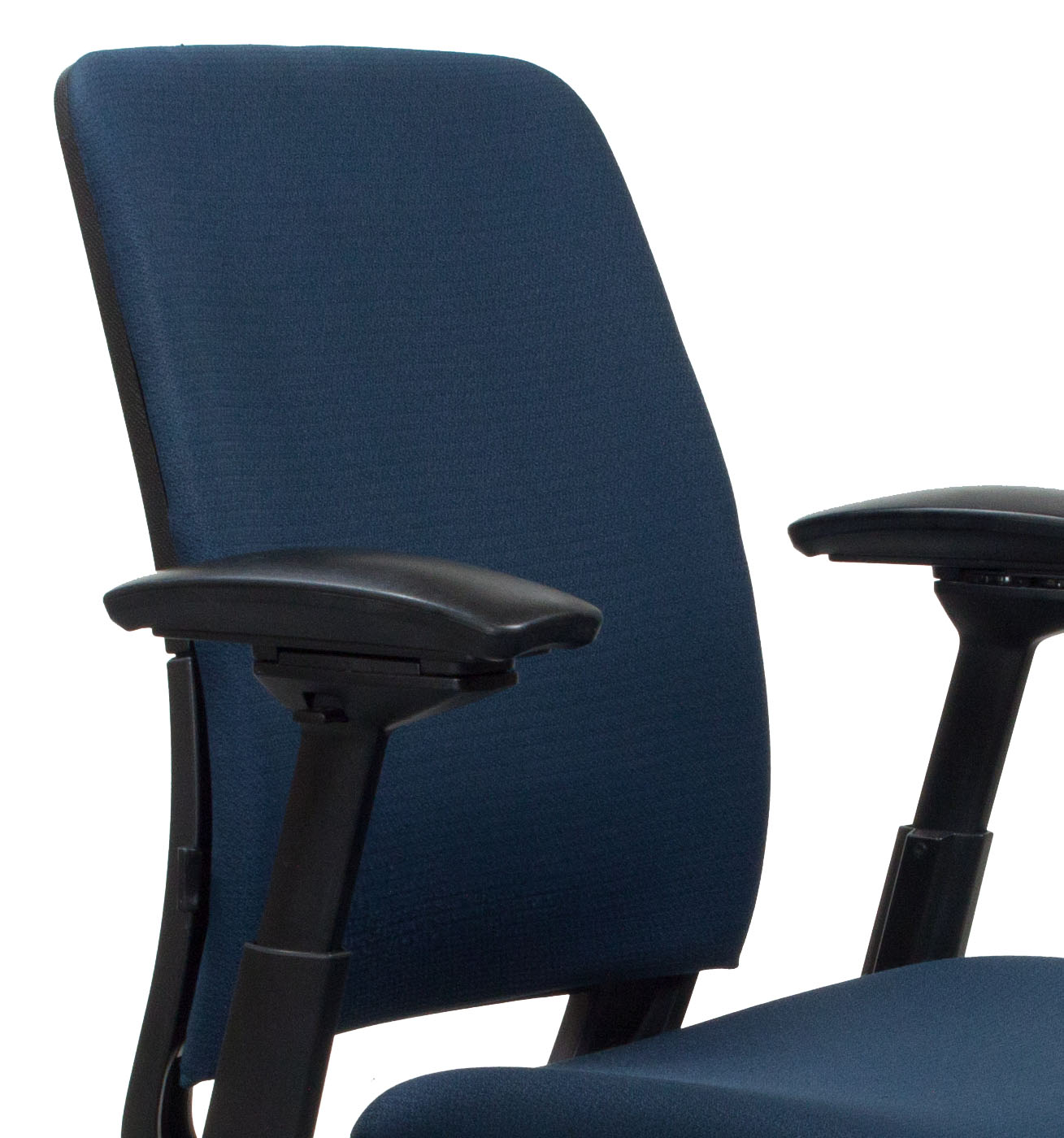 steelcase amia chair antique high rocker value used task blue national office