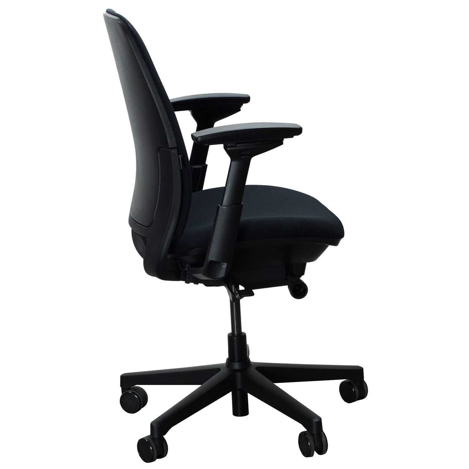 steelcase amia chair high back desk chairs used task black national office