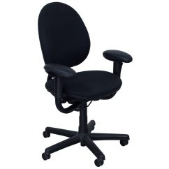 Ergonomic Chair Used Shampoo And Bowl Steelcase Criterion High Back Series Task Black
