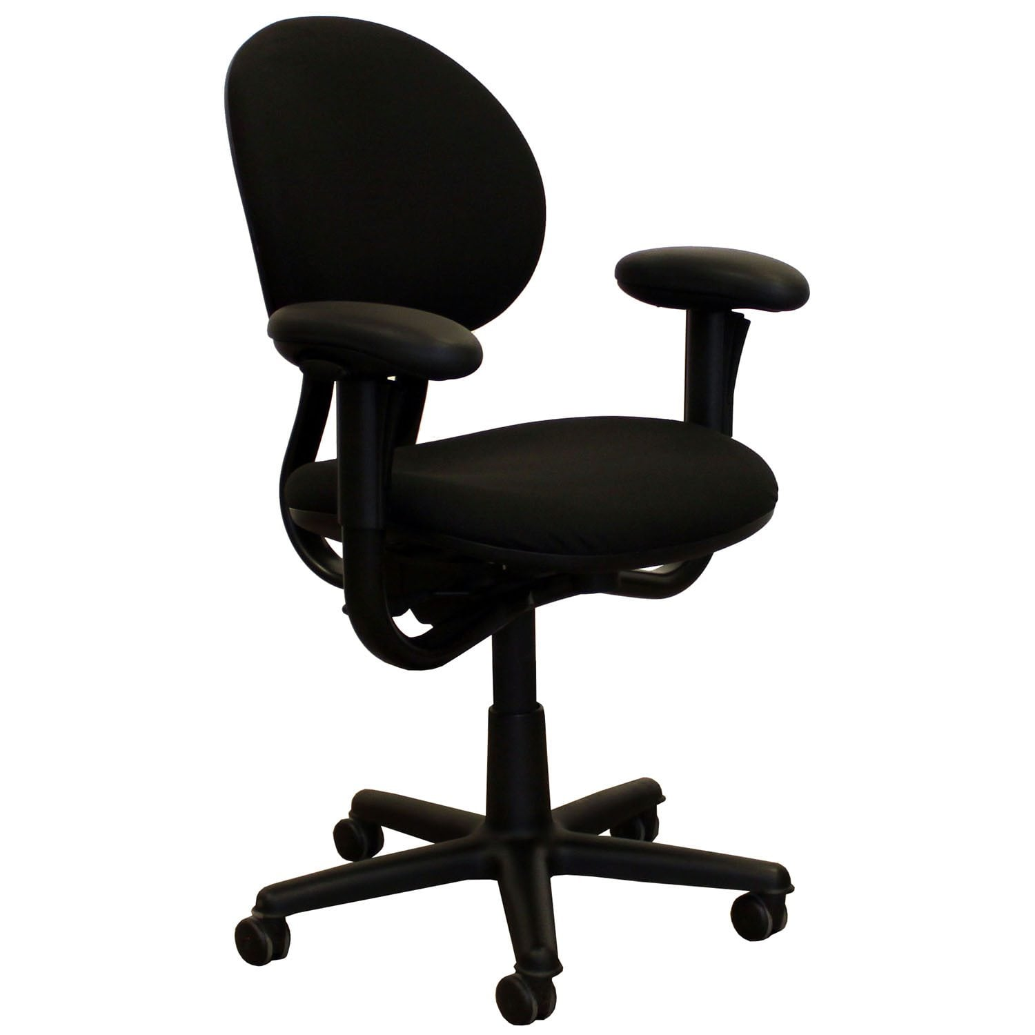 ergonomic chair used red wing steelcase criterion series task black national office interiors and liquidators