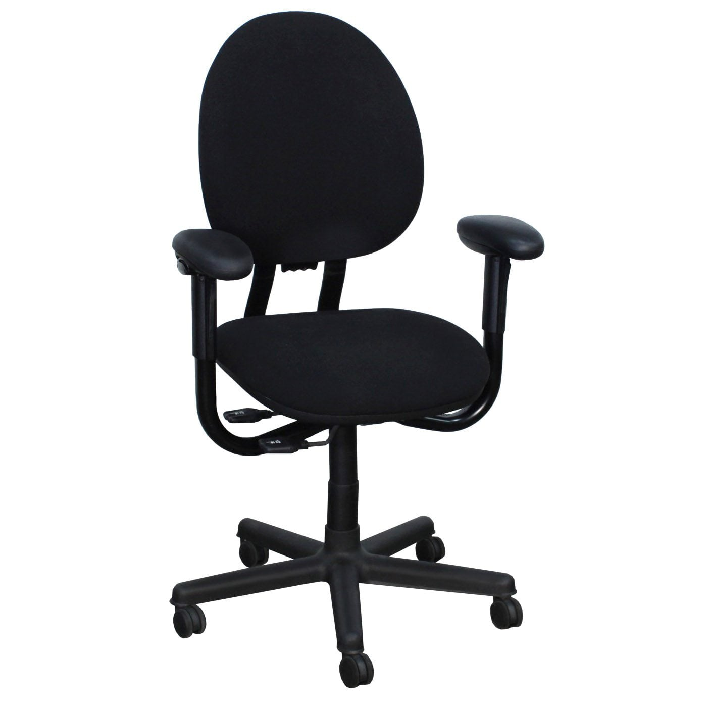ergonomic chair used card table and chairs set target steelcase criterion high back series task black