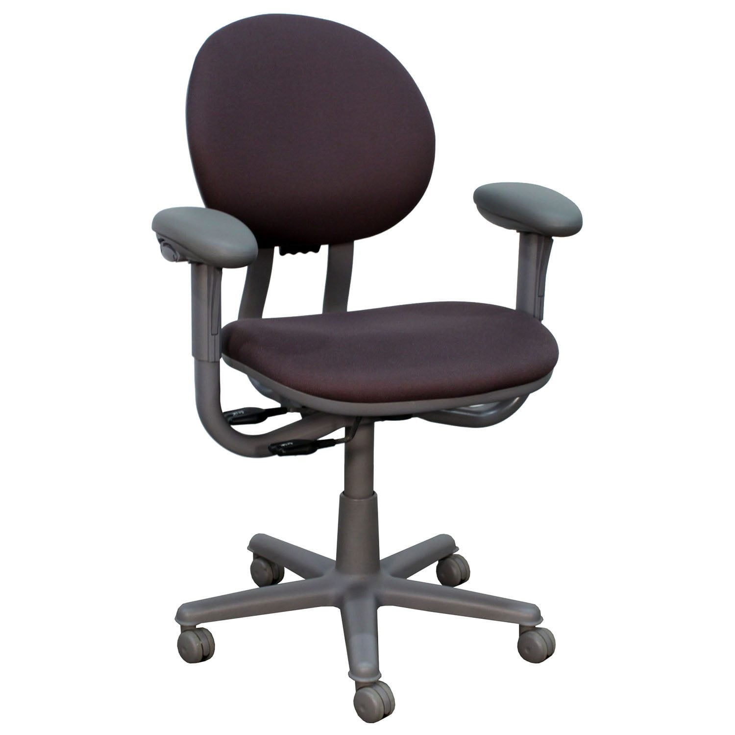 purple task chair french ladder back chairs steelcase criterion used mid series