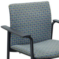 Steelcase Jersey Used Stack Chair, Multicolor Design ...