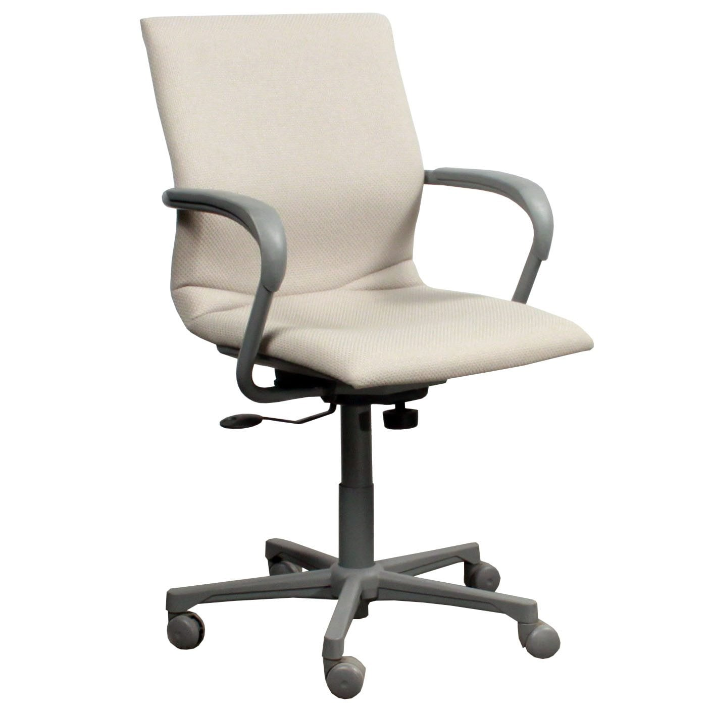 Steelcase Chairs Steelcase Protege 433 Used Conference Chair Creme Design