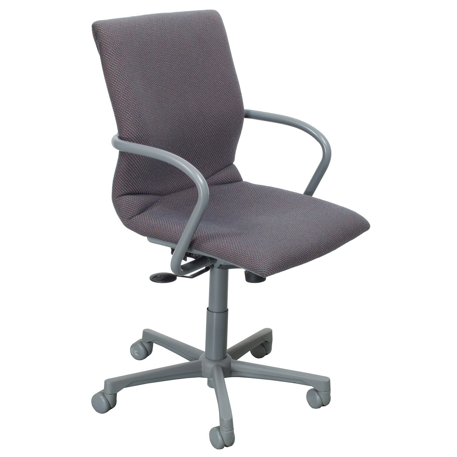 steelcase chair best for guitar protege used conference purple blend national