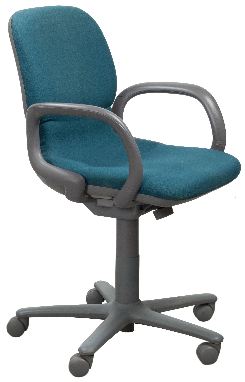 desk chair teal walmart black steelcase sensor used mid back task national