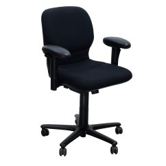 Steelcase Chair Ground Blind Chairs Sensor Used Task Black National Office