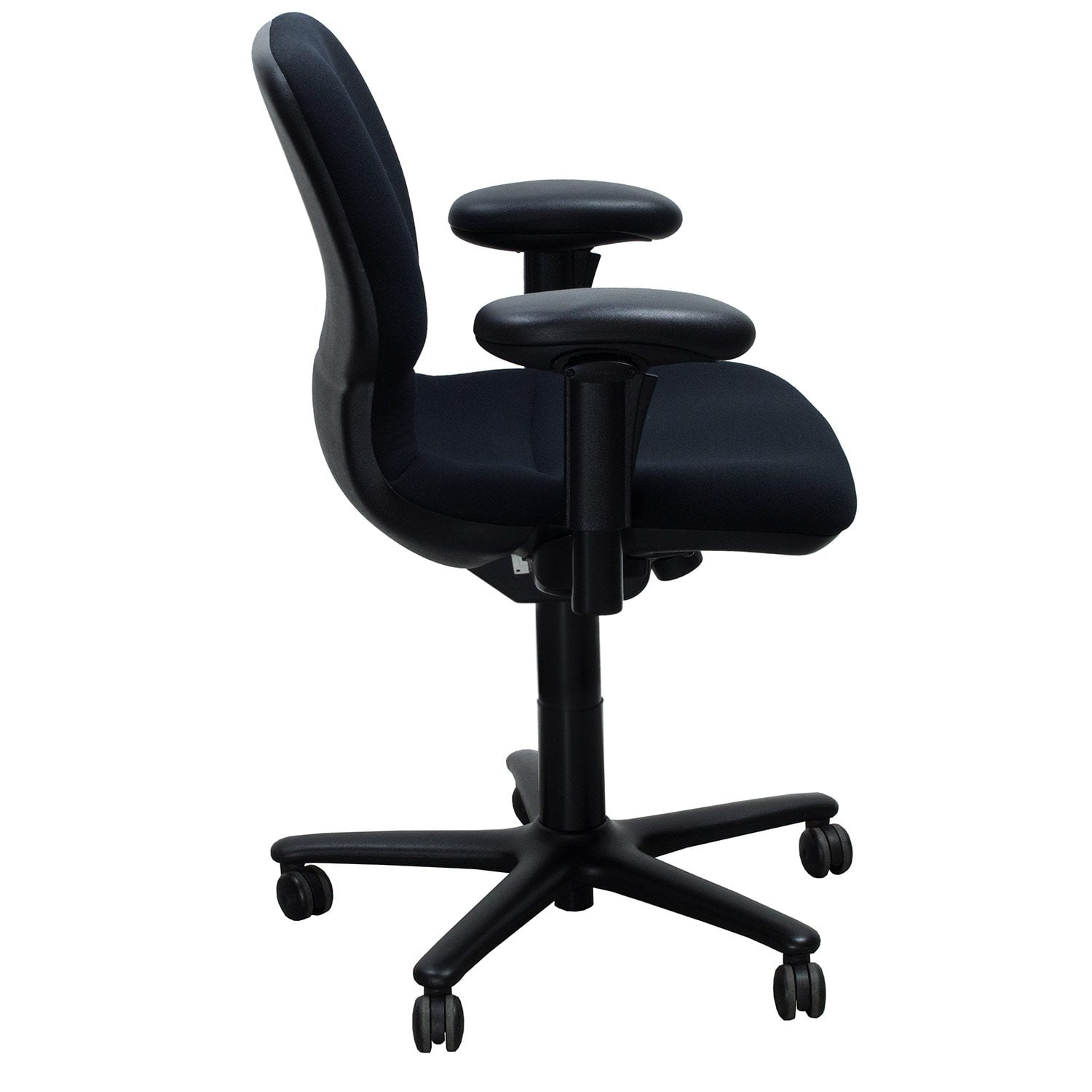Steelcase Chair Parts Steelcase Sensor Used Task Chair Black National Office Interiors And Liquidators