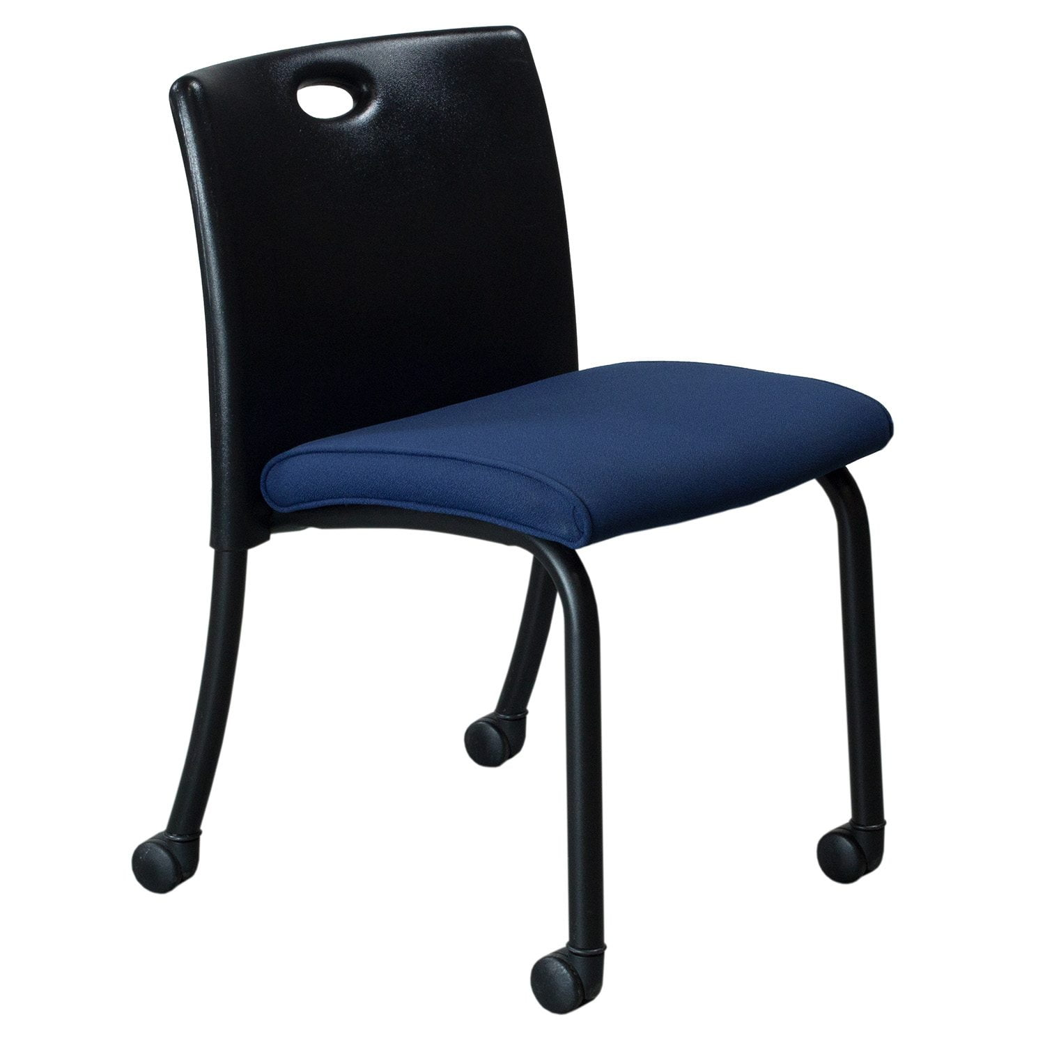 Steelcase Chairs Steelcase Sweeper Used Mobile Guest Chair Blue National