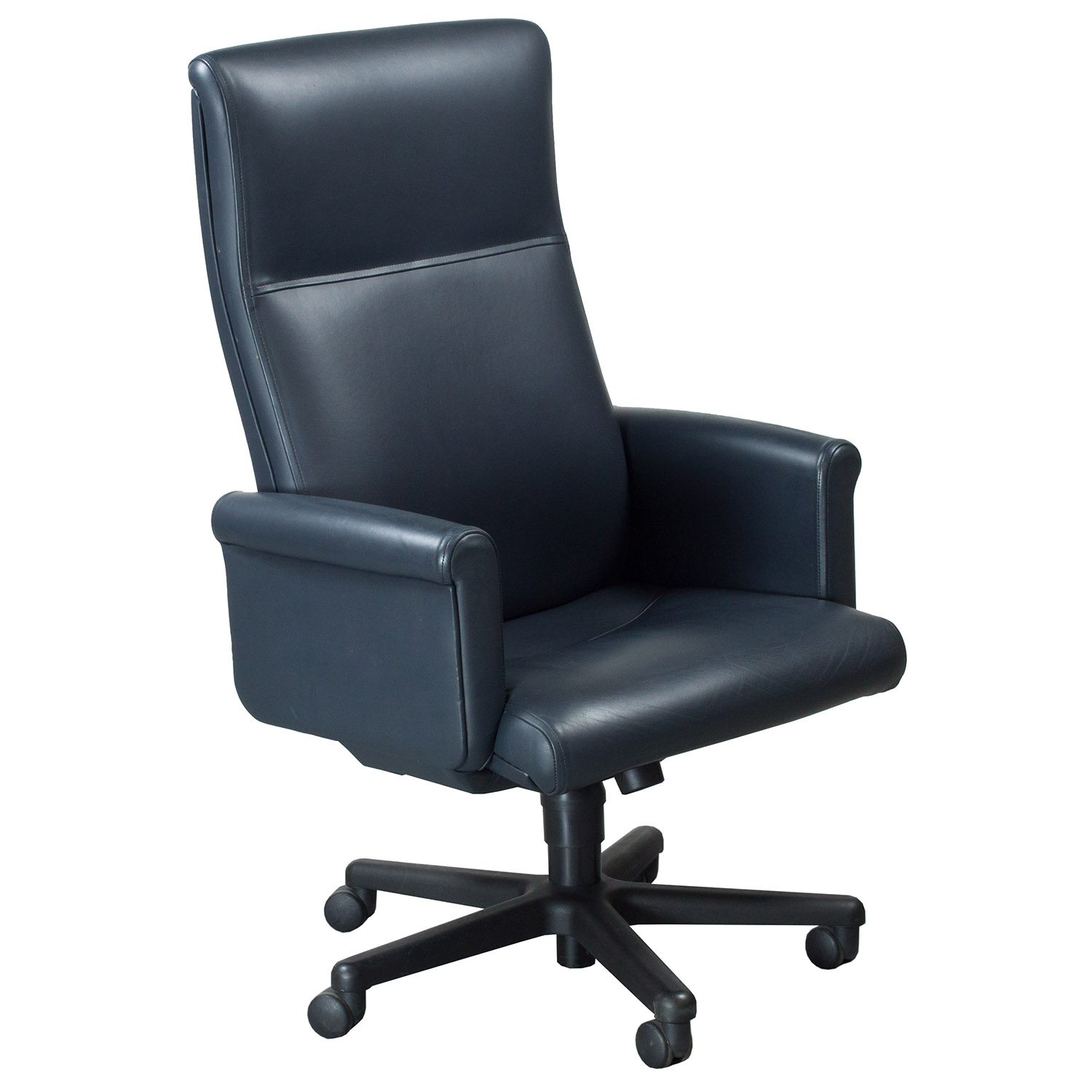 Used High Chairs Steelcase Theorem Used High Back Leather Executive Chair