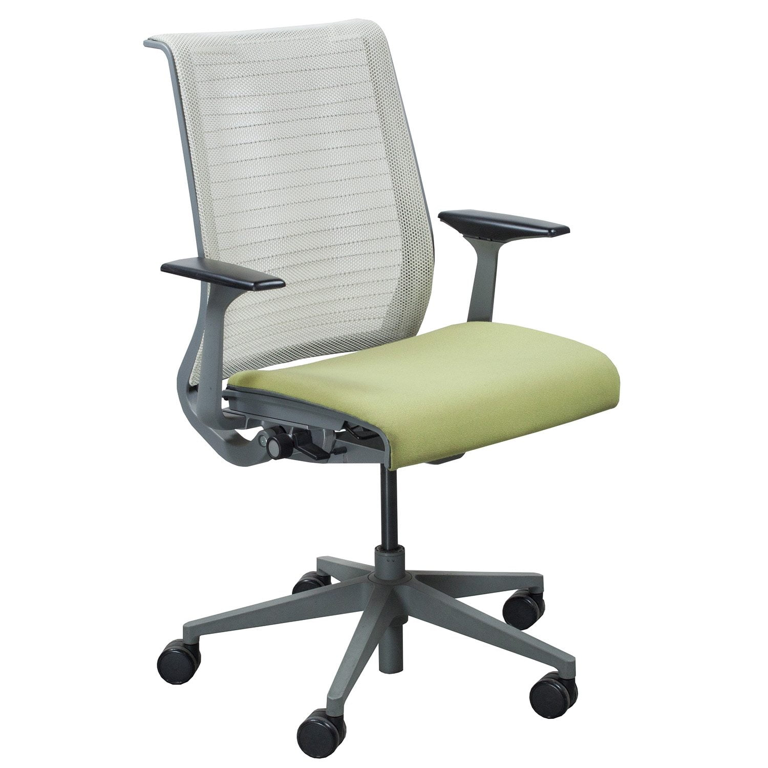Steelcase Chairs Steelcase Think Used Task Chair Pistachio National