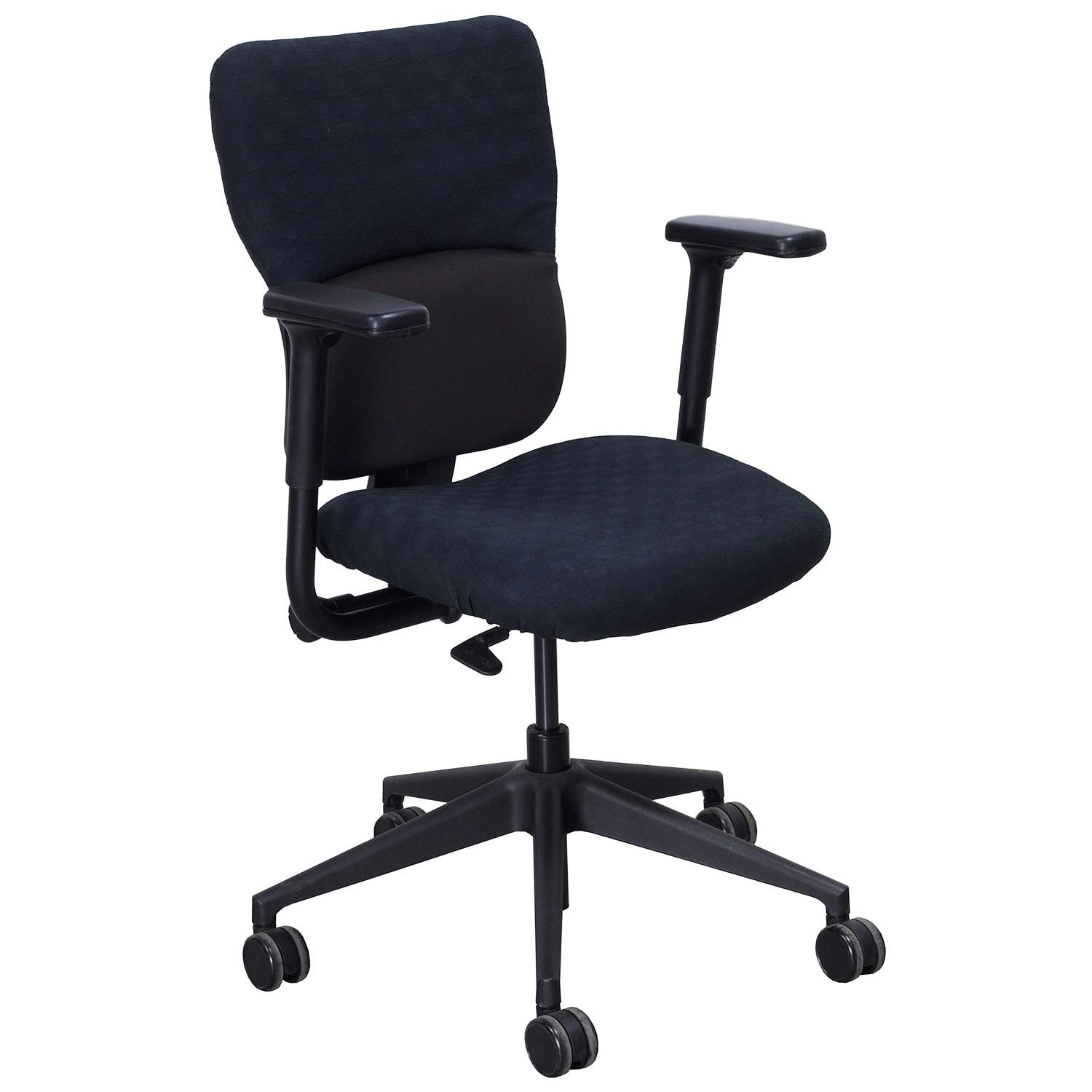 Steelcase Chairs Steelcase Turnstone Let 39s B Used Task Chair Black Pattern