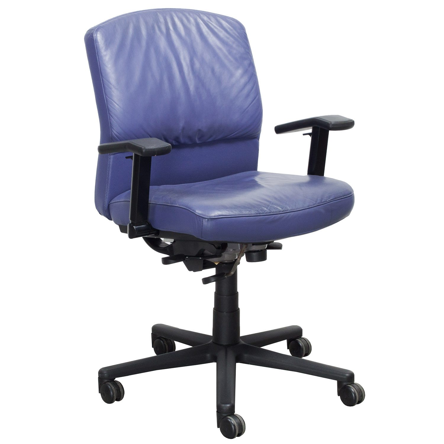 purple task chair rattan kitchen chairs steelcase vecta 4 o 39clock series used leather