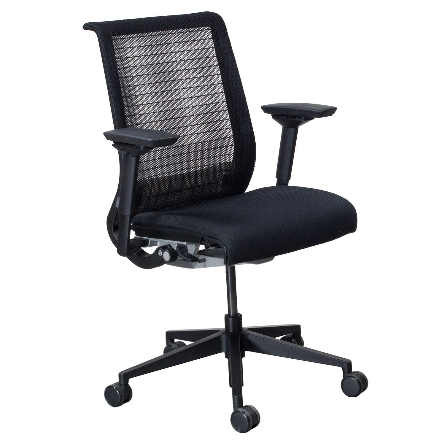 Steelcase Chairs Steelcase Think Used Task Chair Black Mesh National