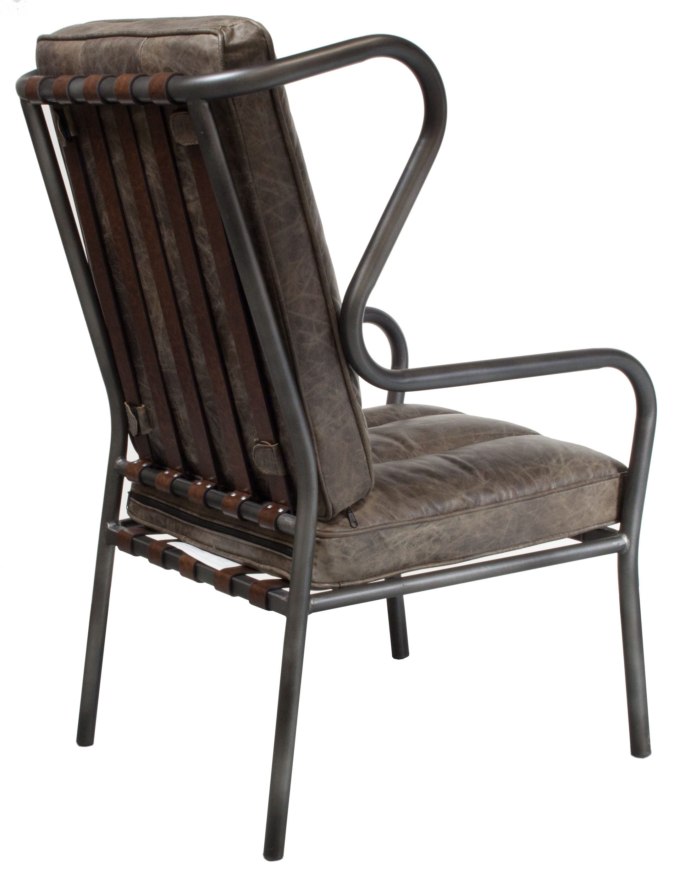 distressed leather desk chair staples chairs gosit new highback side whiskey