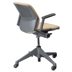 Office Chair Gold Smart Reviews Steelcase Vecta Kart Used Nesting Task