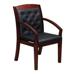 Folding Chair Liquidation Lazy Boy Rocker Recliner Swivel Chairs Wood Tufted Side Mahogany National Office