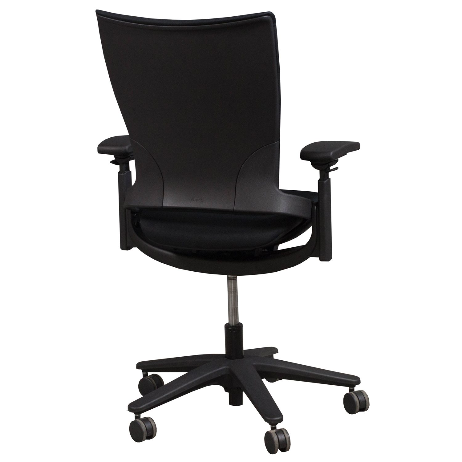 allsteel office chair inflatable lifting sum used task black national