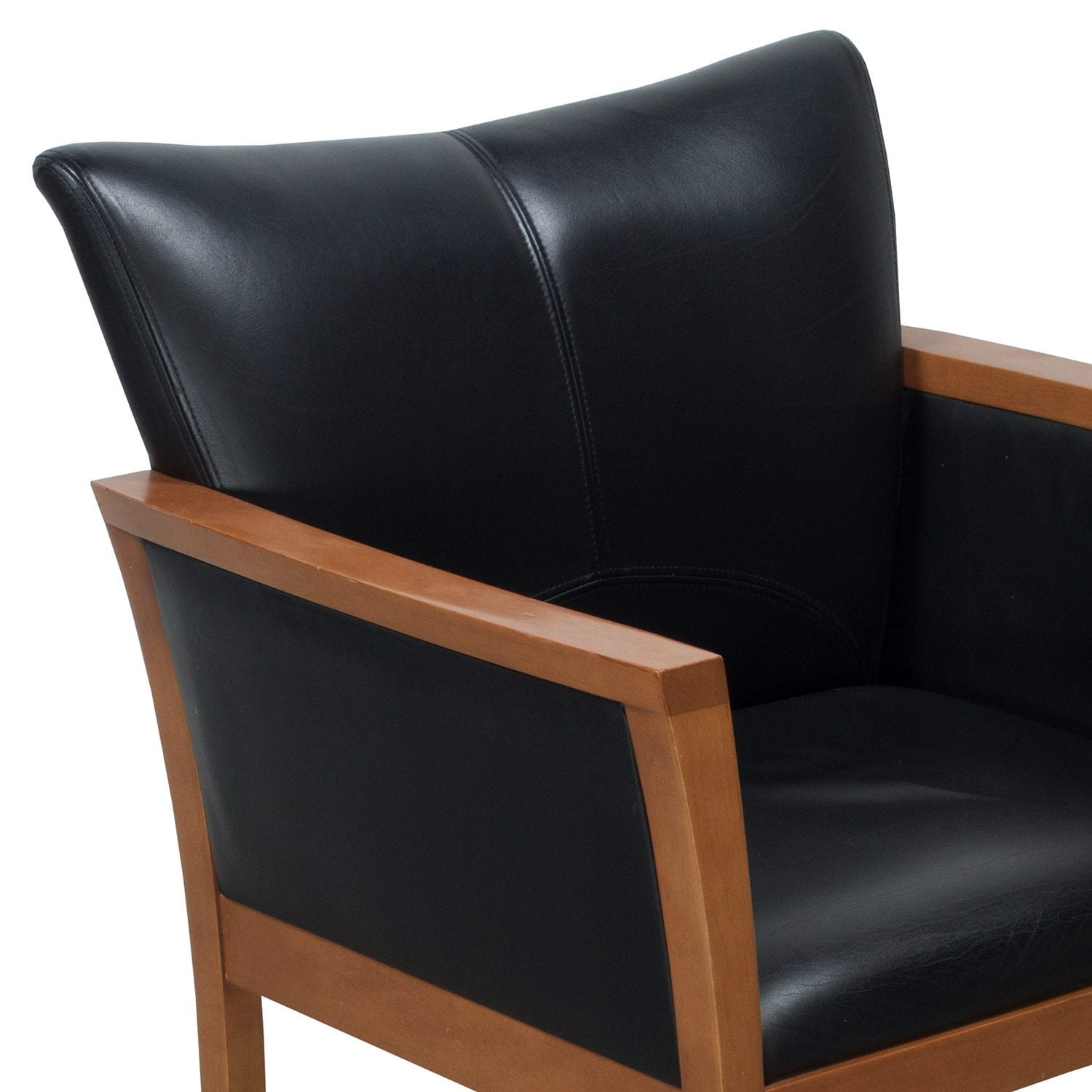 leather side chair for gym arcadia used black national office