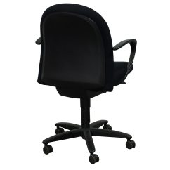 Desk Chair Youtube White Rolling Haworth Accolade Used Task Black National Office