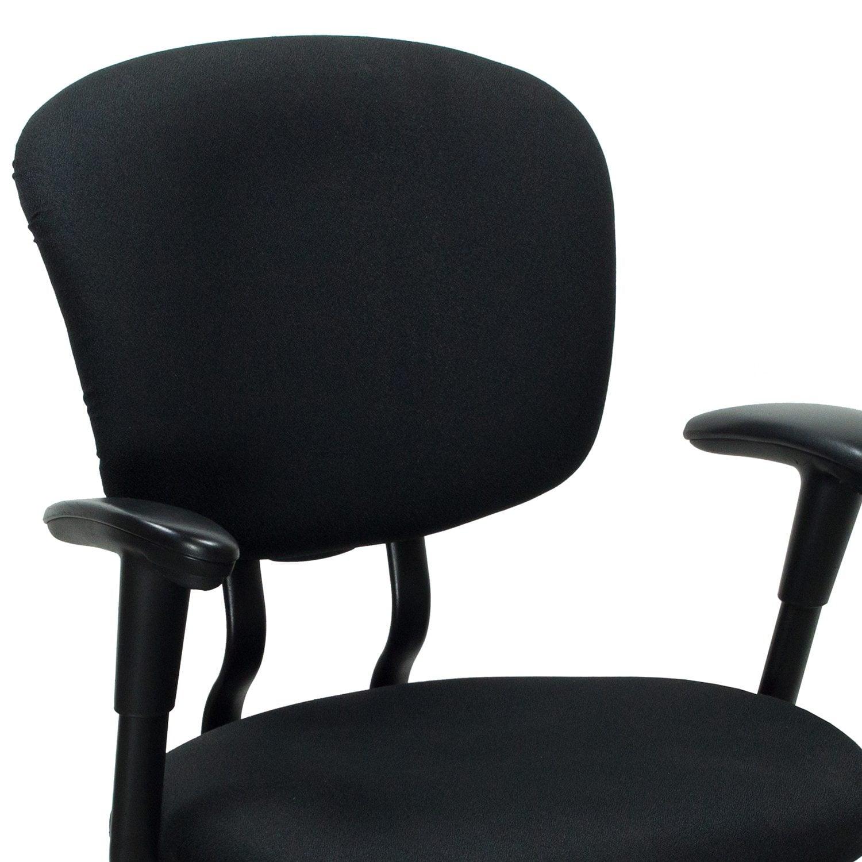 xl desk chair white glider haworth improv used task black national office