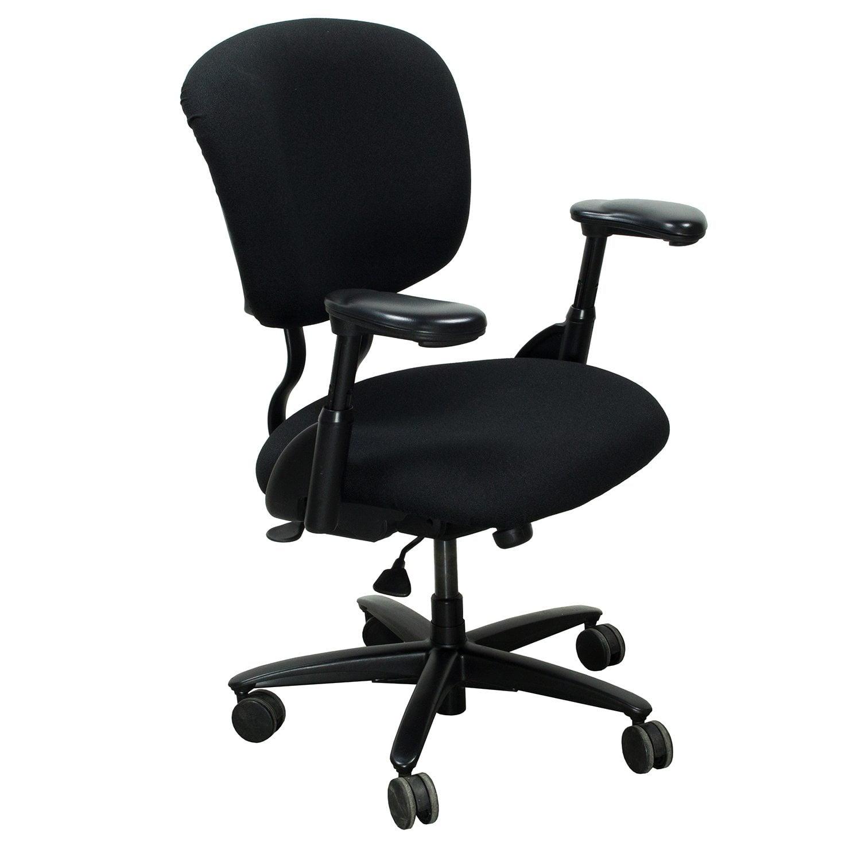 xl desk chair non slip pads haworth improv used task black national office