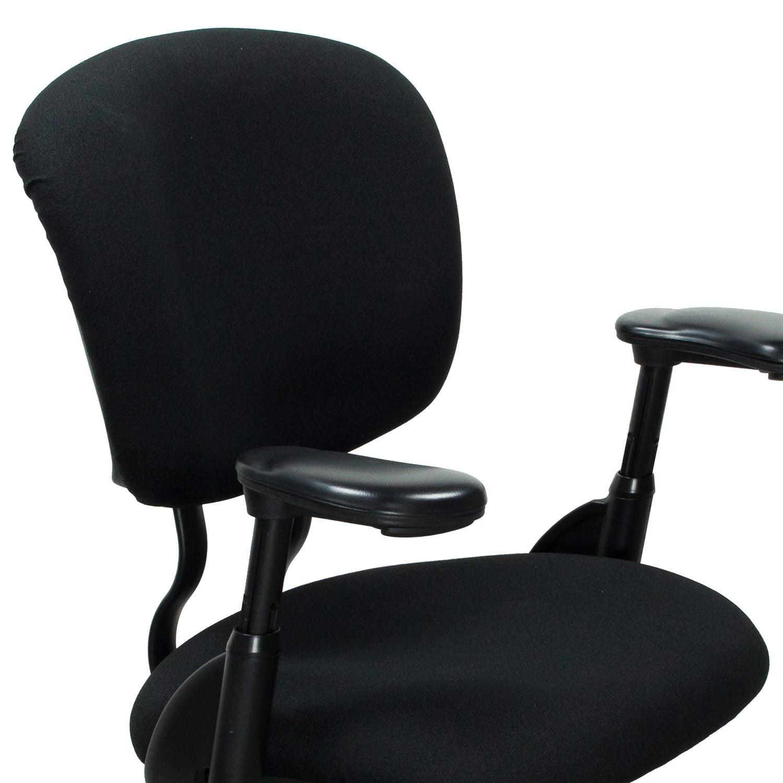 xl desk chair x3 office haworth improv used task black national