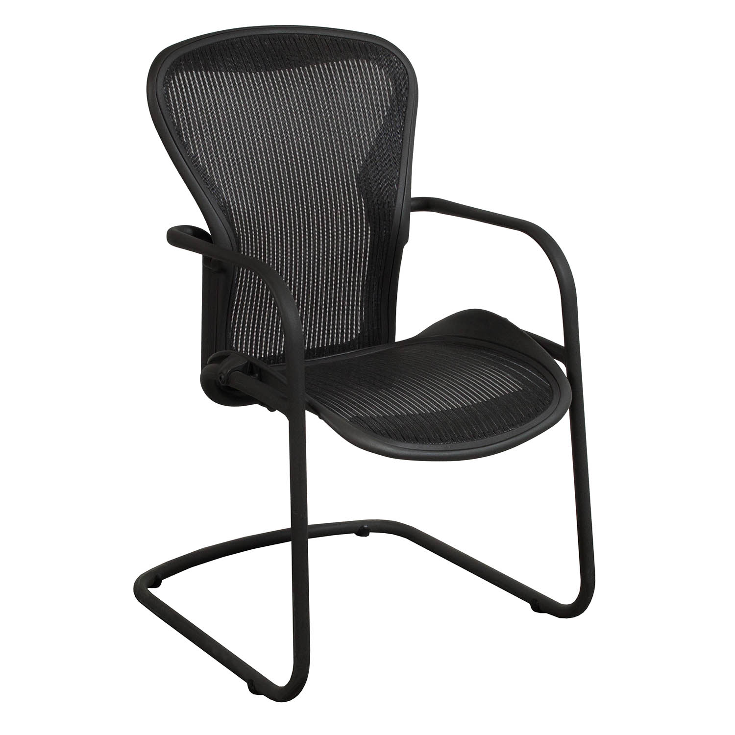 Herman Miller Office Chair Herman Miller Aeron Used Side Chair Carbon Classic
