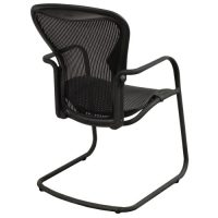 Herman Miller Aeron Used Side Chair, Carbon Classic