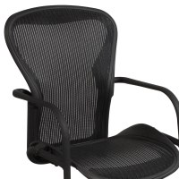 Herman Miller Aeron Used Side Chair, Carbon Classic ...