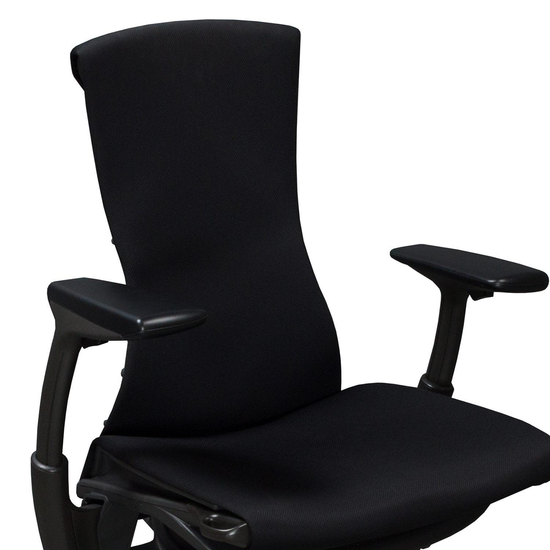 herman miller embody chair used brown office task black rhythm