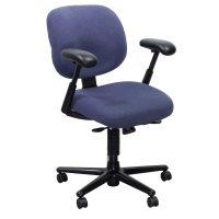 Herman Miller Ergon Used Task Chair, Blue/Purple