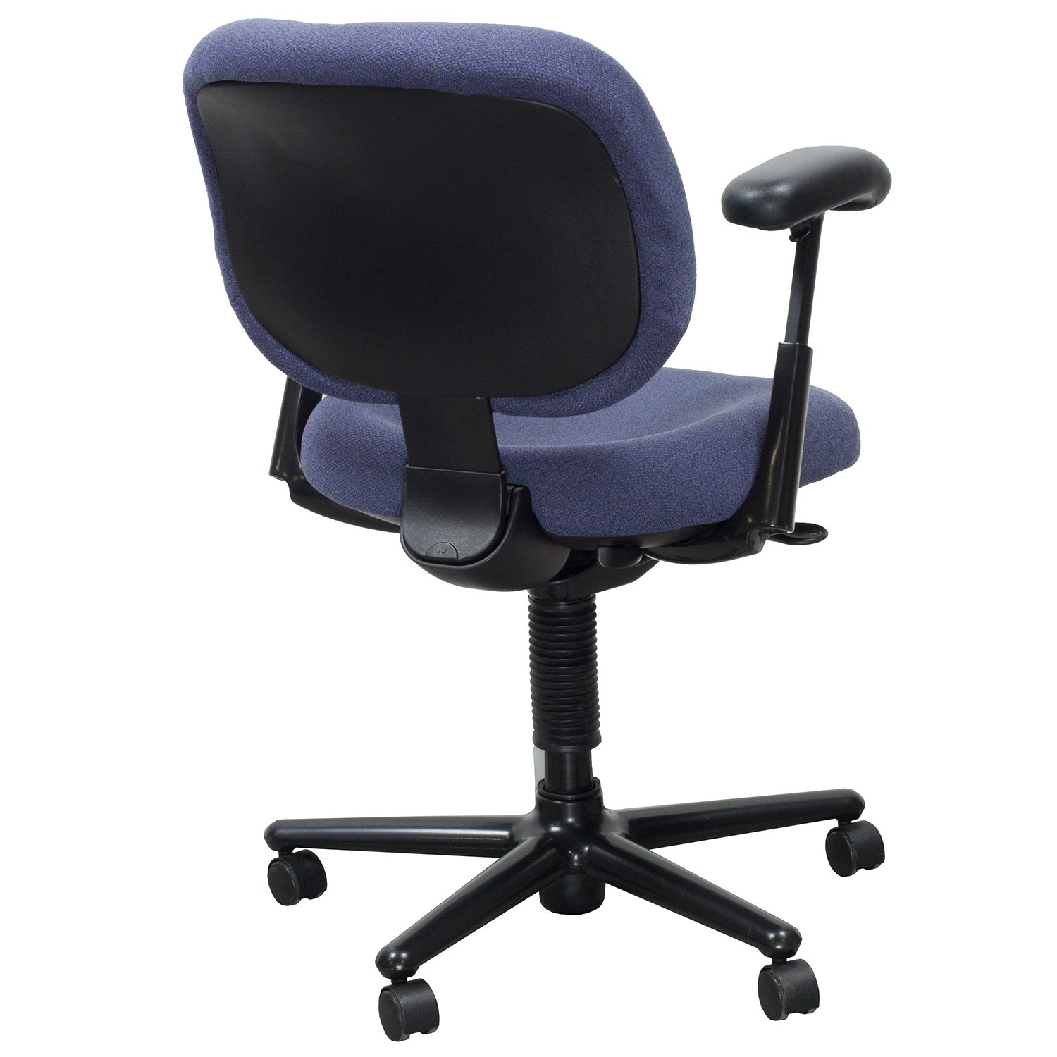 purple task chair covers for pet hair herman miller ergon used blue