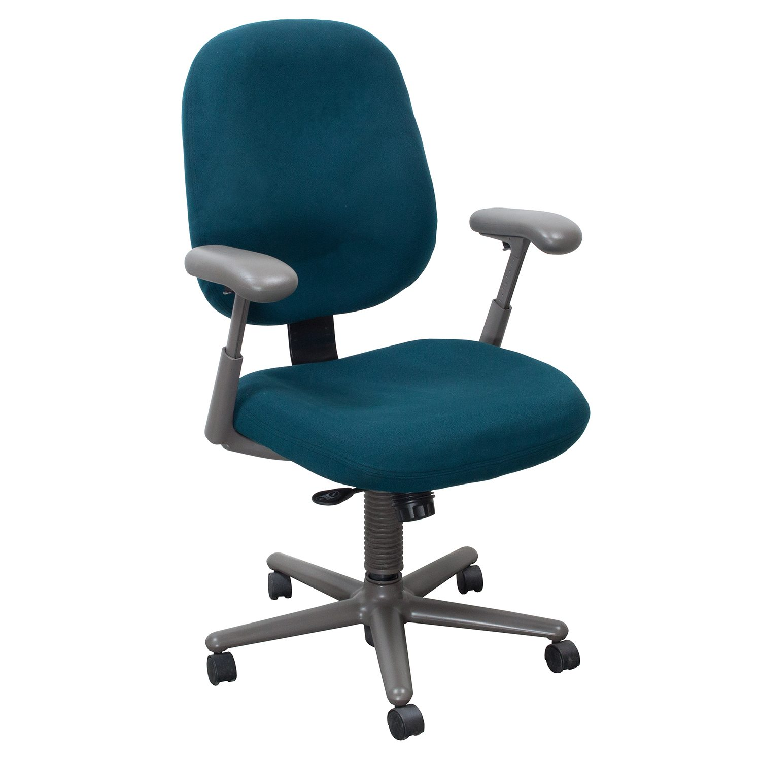 teal office chair captain chairs for boats herman miller ergon used high back task