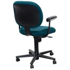 Teal Computer Chair Arm Covers Amazon Uk Herman Miller Ergon Used Task National