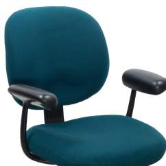 Teal Office Chair Back Support Herman Miller Ergon Used Task National