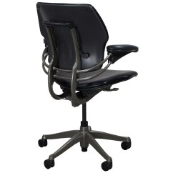 Humanscale Liberty Office Chair Review Seagrass Dining Chairs Freedom Leather Used Task Black