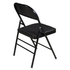 Cushioned Folding Chairs Best For Fire Pit Gosit New Chair Black National Office Interiors