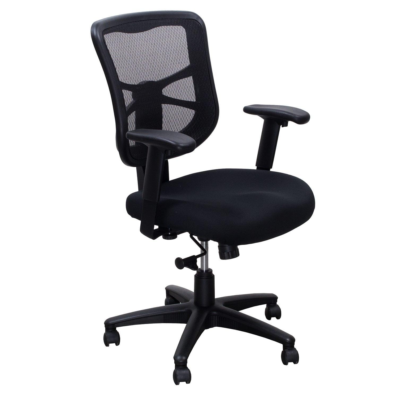 Mesh Back Used Task Chair Black  National Office