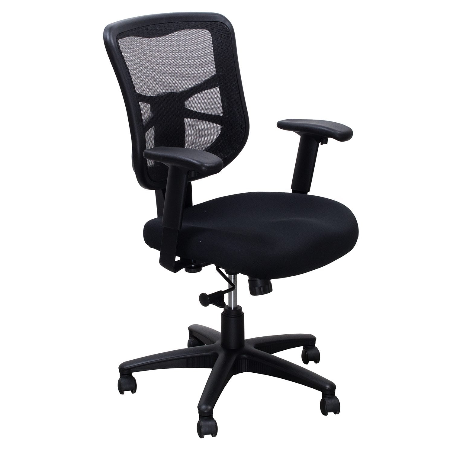 mesh task chair grey living room chairs back used black national office