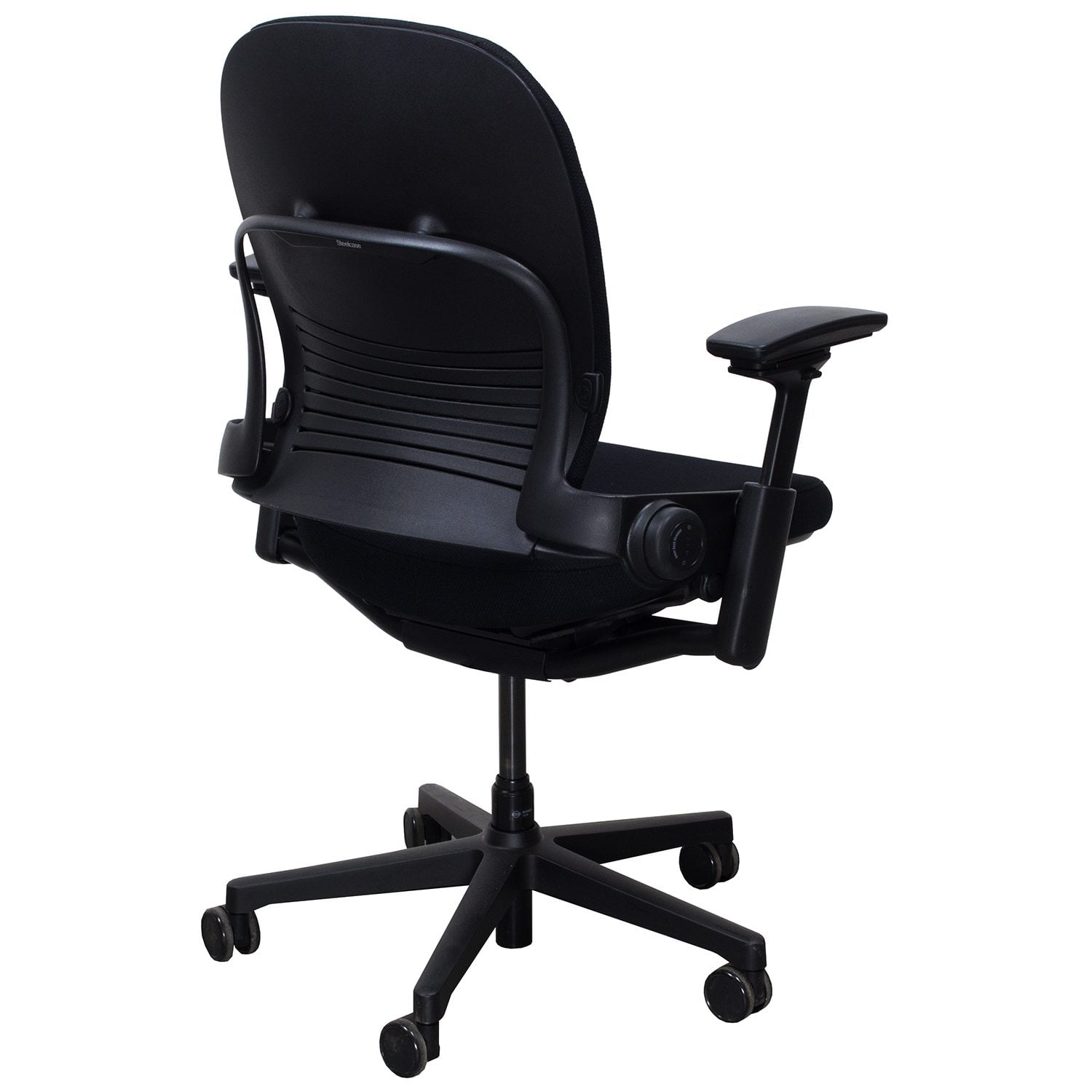 Steelcase Leap Plus V2 Used Task Chair, Black