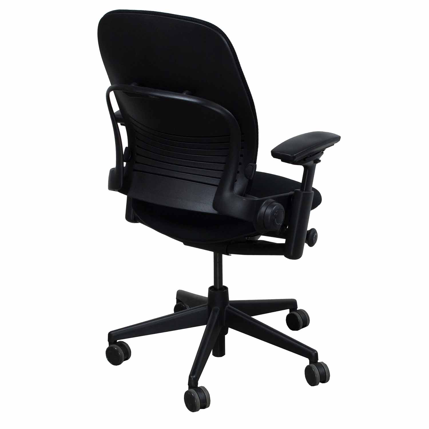 Steelcase Chairs Steelcase Leap V2 Used 3d Mesh Task Chair Black