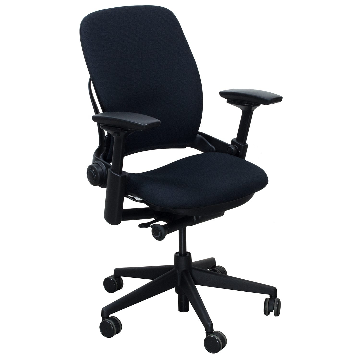 steelcase leap chair diy reupholster accent v2 used task black national office