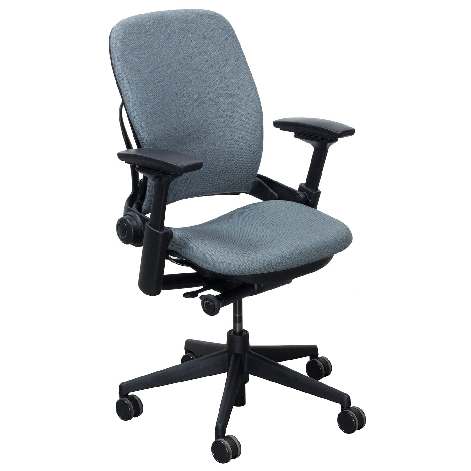 steelcase leap chair amia adjustments v2 used task blue gray national