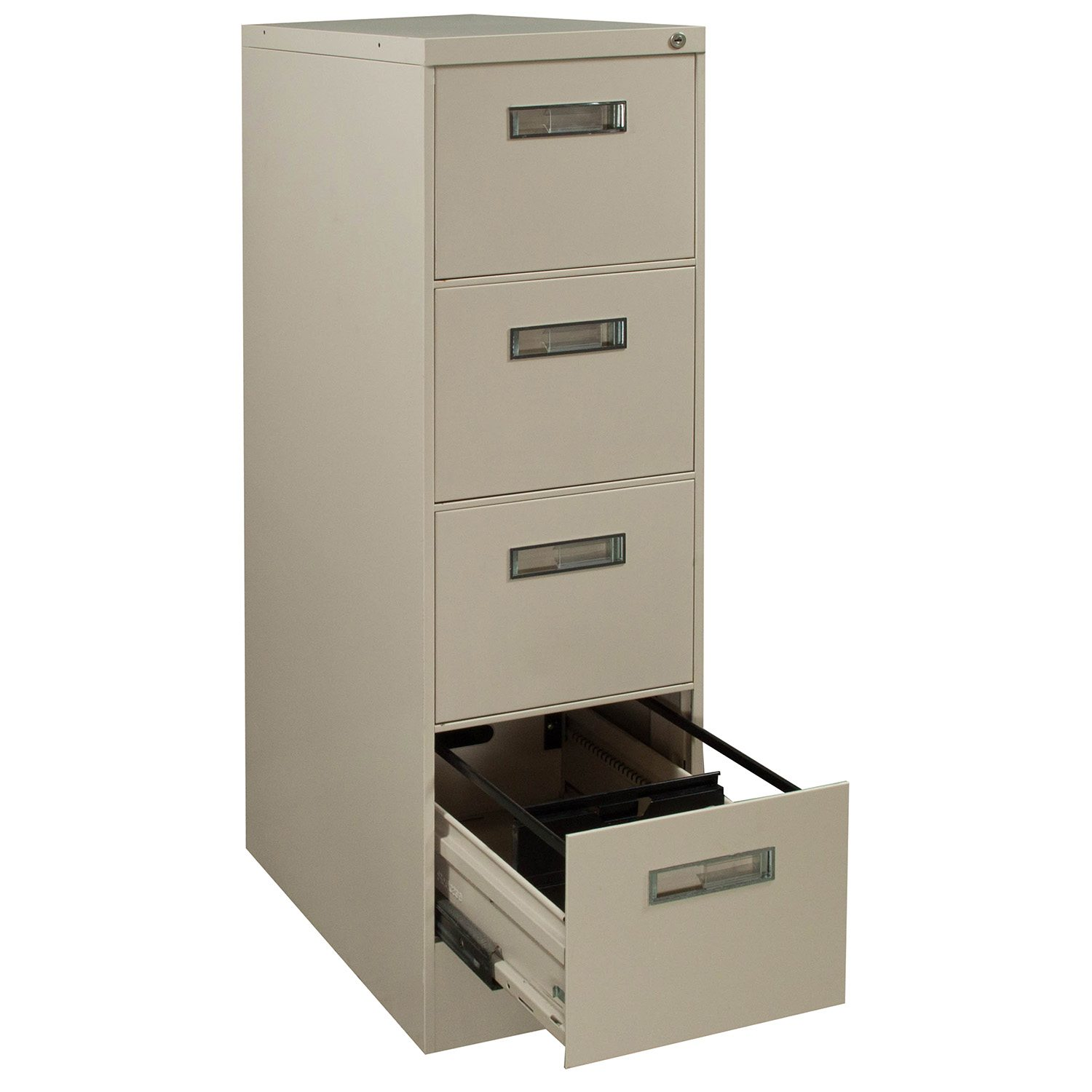 Steelcase 4 Drawer Used Letter Sized Vertical File Putty