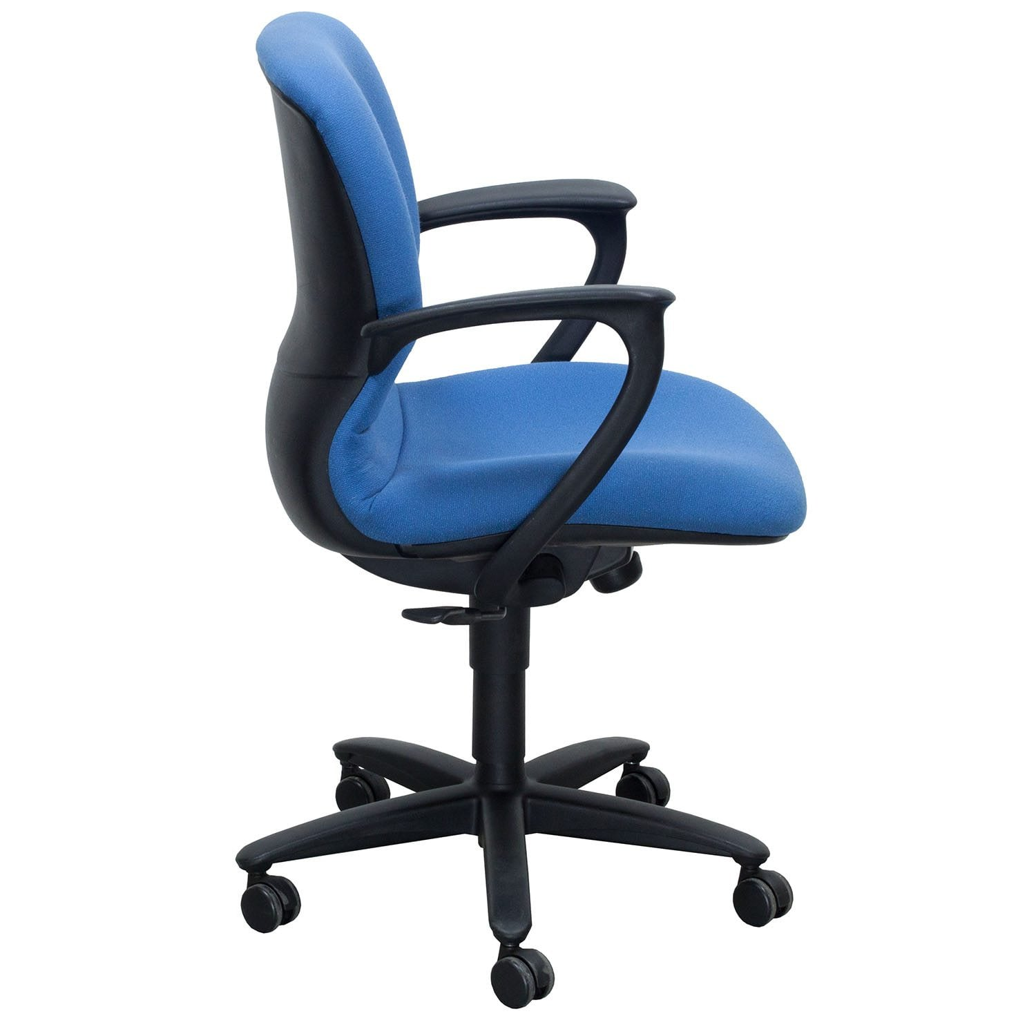 used desk chairs outdoor reclining chair haworth improv conference blue national