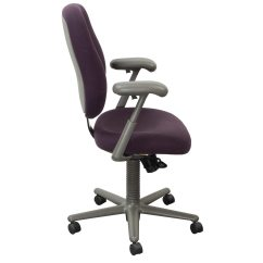 Purple Task Chair Leather Dining Room Chairs In Johannesburg Herman Miller Ergon Used High Back